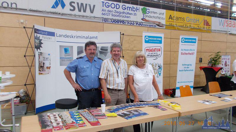 Von rechts nach links: Gabriele Specht, Joachim Fery, Ralf Heib (Foto: PI VKL)