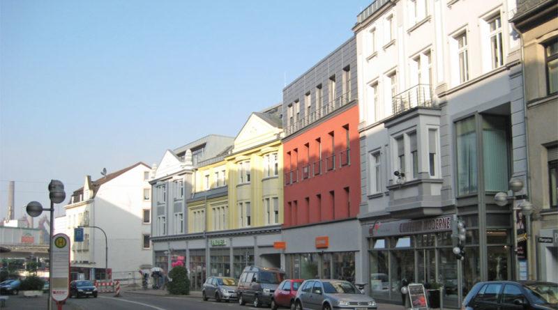 Die Rathausstraße in Völklingen (Archivfoto: Strempel)