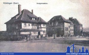 1918: Die Villa war Wohnsitz des Direktors. (Sammlung Ganster)