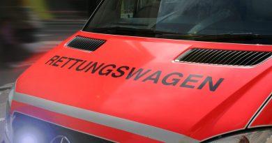 Geislautern: Verkehrsunfall mit schwer verletztem Motorradfahrer