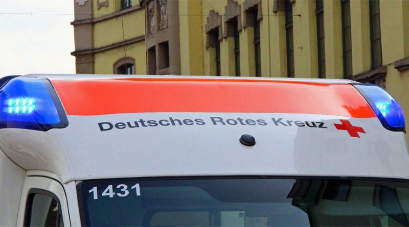 Rettungswagen des Deutschen Roten Kreuzes (Symbolfoto: Hell)