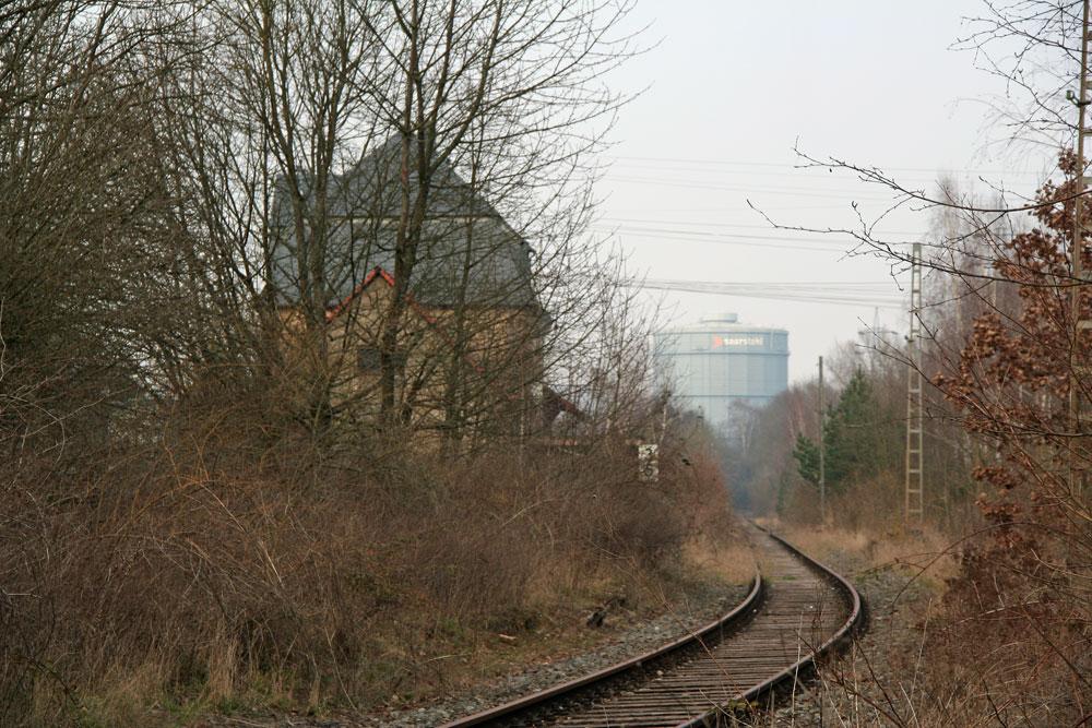 Im Rosseltal liegt noch das Gleis (Foto: Hell)