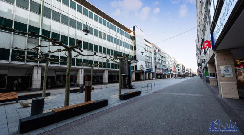Saarbrücken wie leergefegt (Foto: Dominik Eder, Your Day Photography)