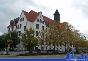 Das Schlafhaus der Völklinger Hütte 2013: Hier war die Viktoria-Schule für viele Jahre zuhause. (Foto: Hell)
