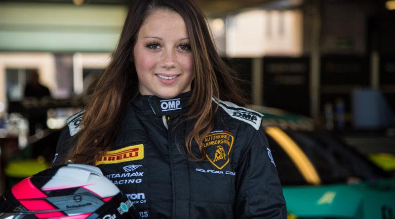 Carrie Schreiner gehört auch 2018 zum Lamborghini Junior Programm (Foto: motorsport-xl.de)