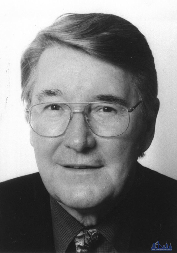 Professor Heinrich Schüssler, Bürgermeister a.D. (Foto: Stadtarchiv)