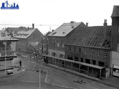 1967: Diese Häuser mussten für das Passage-Kaufhaus weichen