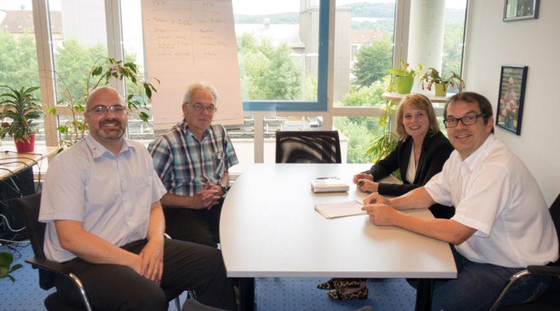 Foto: vl. Thorsten Gundacker-Dollak, Wolfried Willeke, Christiane Blatt, Erik Roskothen (Foto: SPD)