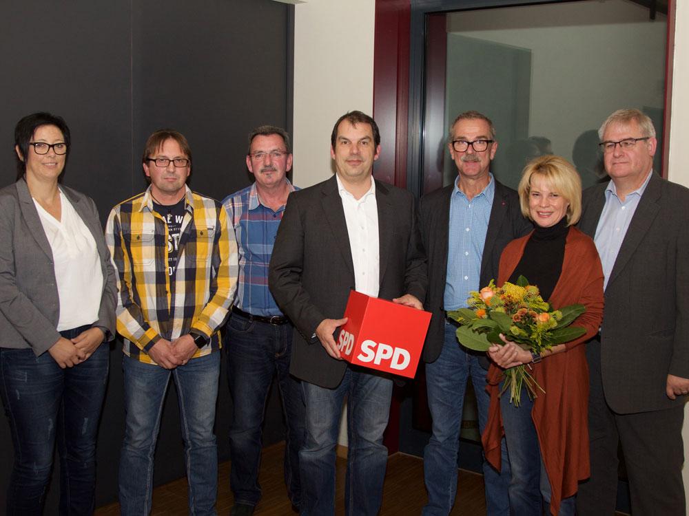 Vorstand der SPD Vöklingen (Archivfoto: SPD)
