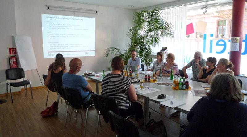 Das Stadtteilforum der Nördlichen Innenstadt traf sich zur zweiten Sitzung (Foto: Stadt VKL)