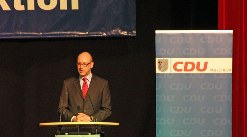 Stefan Rabel bei einer Rede (Archivfoto: Hell)