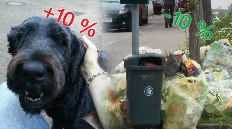 Hundesteuer und Müllgebühr (Fotos: Hell)