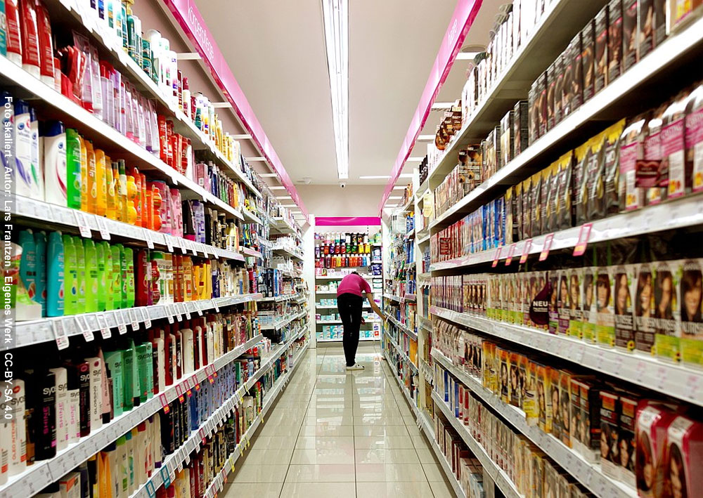 Ein Supermarkt (Foto skaliert - Autor: Lars Frantzen - Eigenes Werk - CC-BY-SA 4.0)
