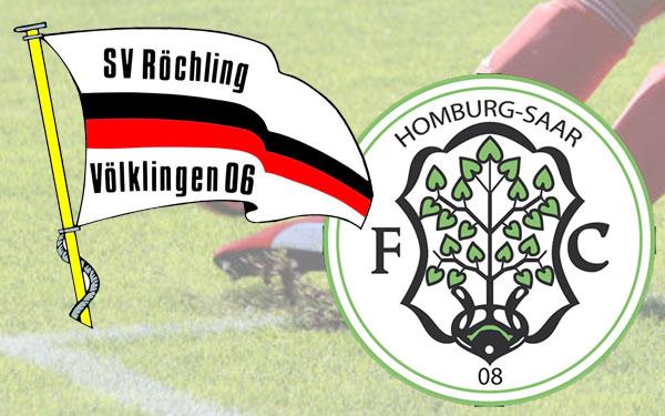 SV Röchling Völklingen gegen den FC Homburg (Grafik: VK-im-Wandel)