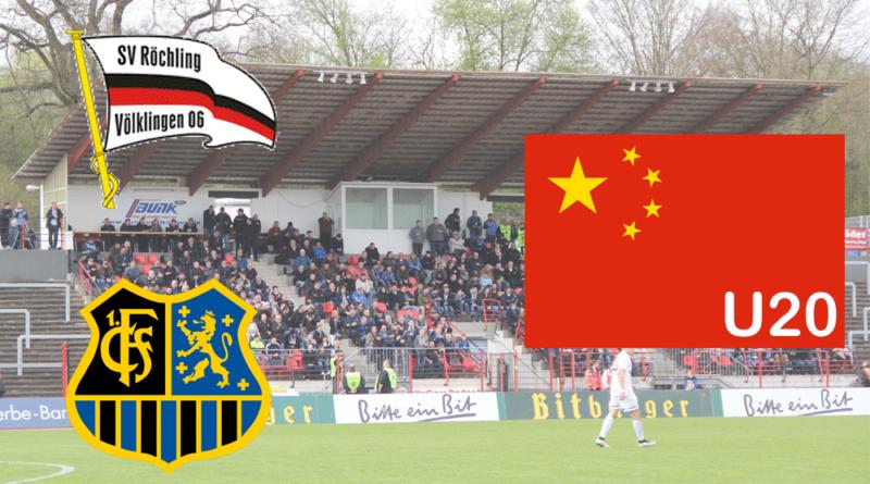 Treffen der SV Röchling Völklingen und der 1. FC Saarbrücken wirklich im Rahmen der Regionalliga Südwest auf Chinas U20?