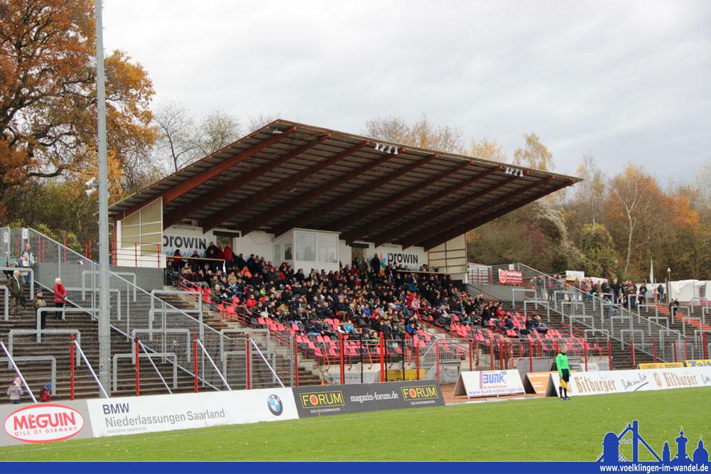 627 Zuschauer zählte der SVR, eine Freikartenaktion für die Jugendspieler und deren Eltern half natürlich dabei für eine tolle Kulisse zu sorgen (Foto: Hell)