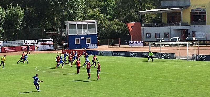 Remis: Röchling und Mechtersheim teilen Punkte (Foto: Kilthau)