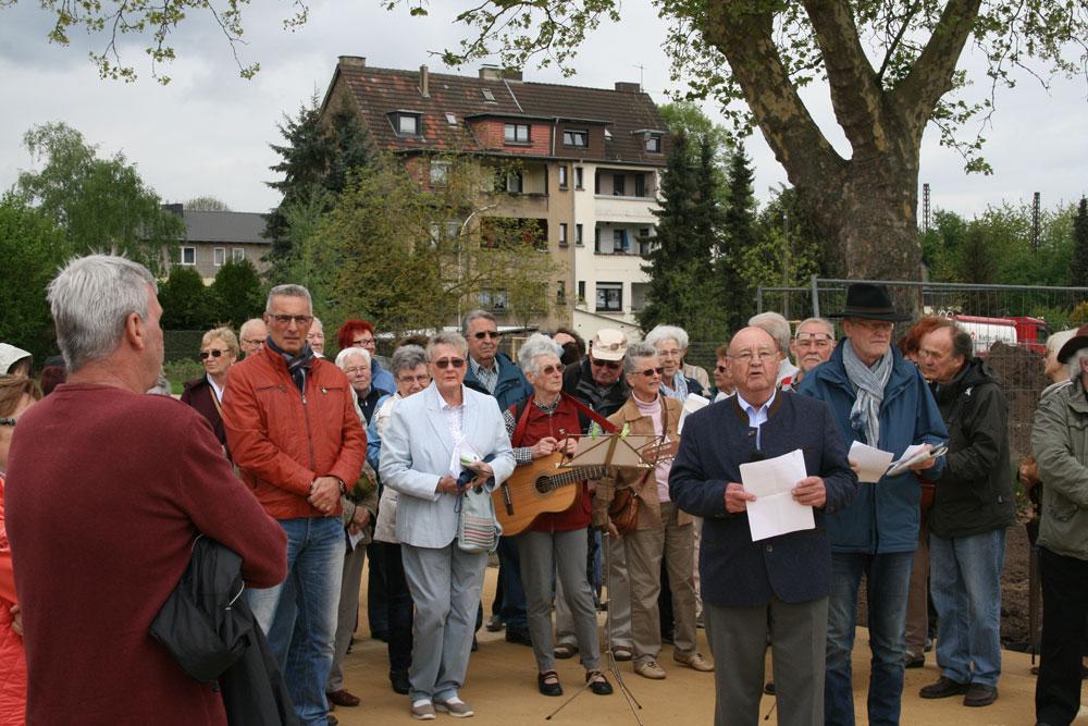 Tag des Baumes in Fürstenhausen. (Foto: Stadt)