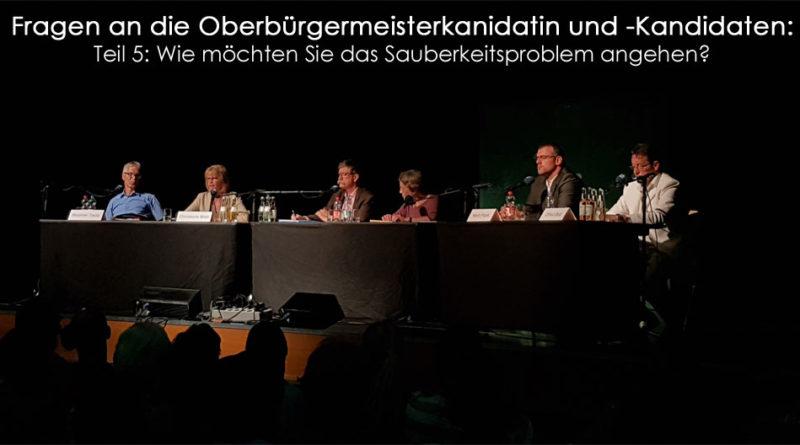 Oberbürgermeisterfragen Teil 5 (Foto: Hell)