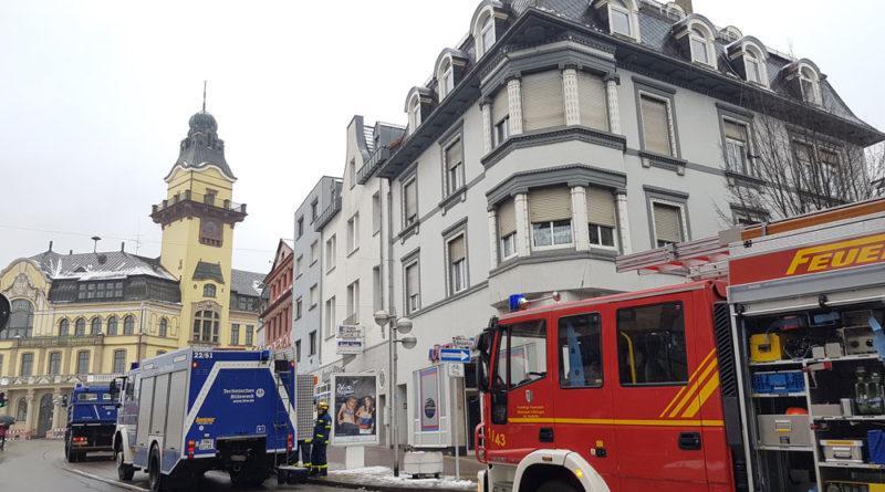 Auch die Feuerwehr war vor Ort. (Foto: Hell)