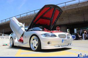 Am 12. Juni werden rund um die Globus-Meisterwerkstatt getunte Fahrzeuge erwartet. (Foto: Hell)