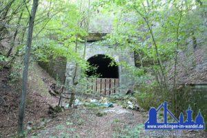 Der Heidstocktunnel führte einst von der Saarstrecke ins Köllertal (Foto: Hell/Archiv)