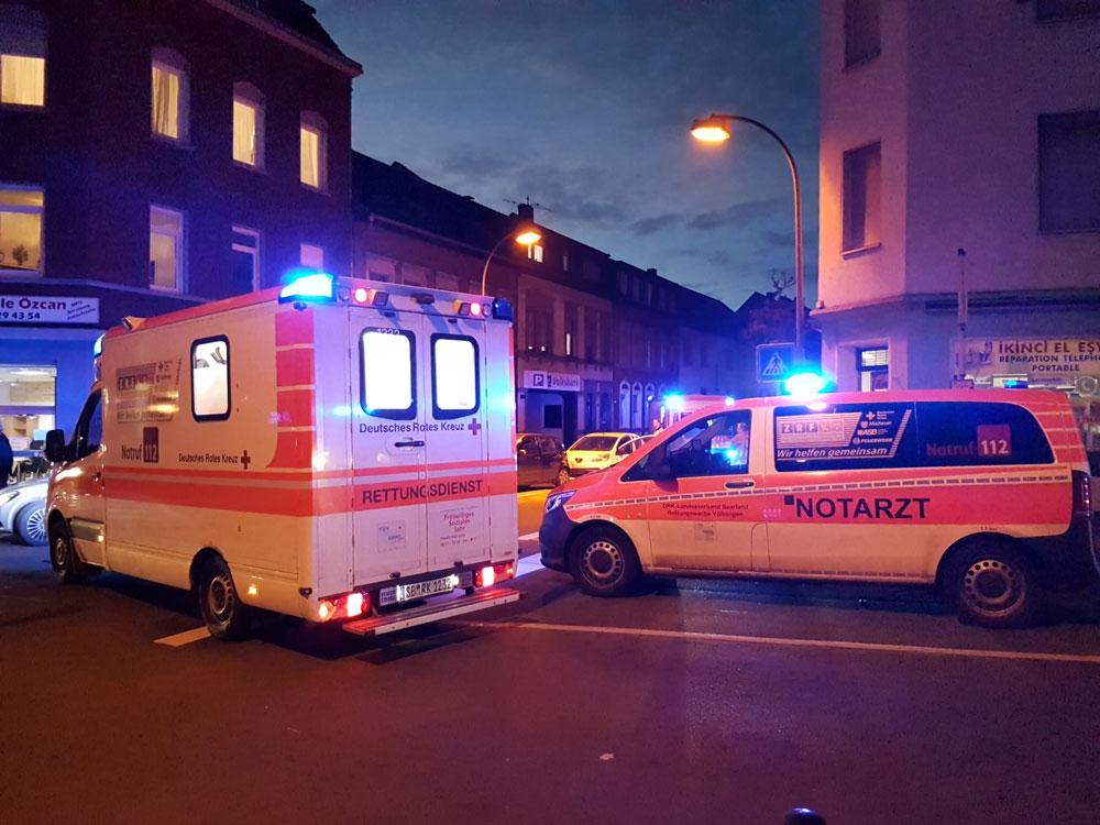Bei diesem Unfall wurden 5 Menschen verletzt (Foto: Hell)