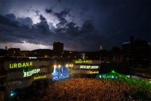 """Das """"UrbanArt Hip Hop Festival"""" im Weltkulturerbe Völklinger Hütte Copyright: Weltkulturerbe Völklinger Hütte/Oliver Dietze"""