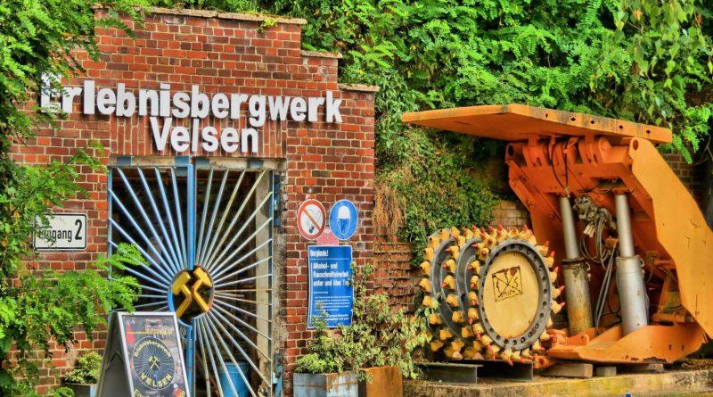 Der Lehrstollen in Velsen (Foto: W. Hoffmann)