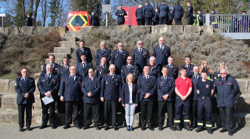 Am Sonntag, dem 25.02.2018 fand im Dorfgemeinschaftshaus Geislautern die diesjährige Hauptversammlung der Freiwilligen Feuerwehr Völklingen statt. (Foto: Stadt)