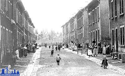 Die Eupenerstraße 1900
