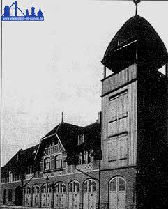 Die neue Feuerwache in Völklingen 1907