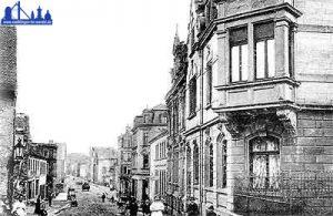Die heutige Karl-Janssen-Straße um 1903