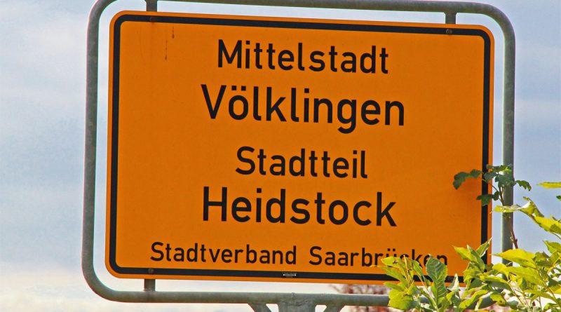 Ortsschild Heidstock (Symbolfoto: Hell)