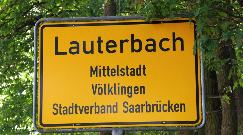 Ortsschild Lauterbach (Symbolfoto: Hell)