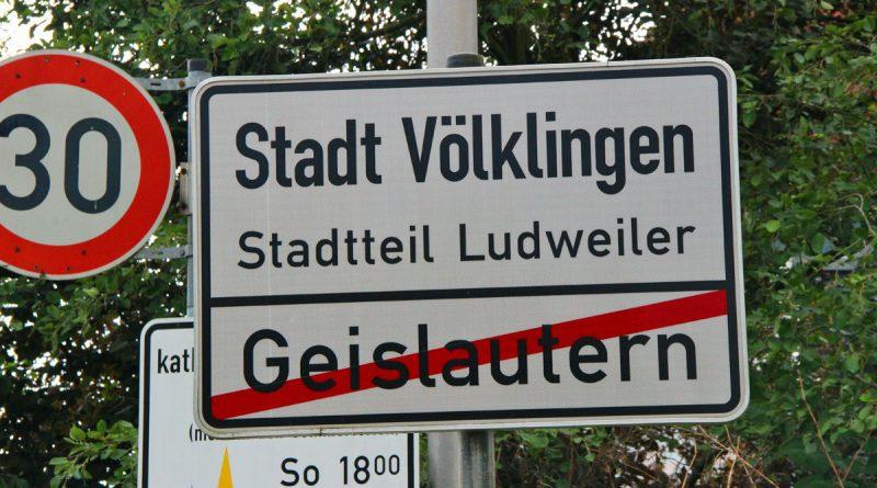 Ortschild Ludweiler (Symbolfoto: Hell)