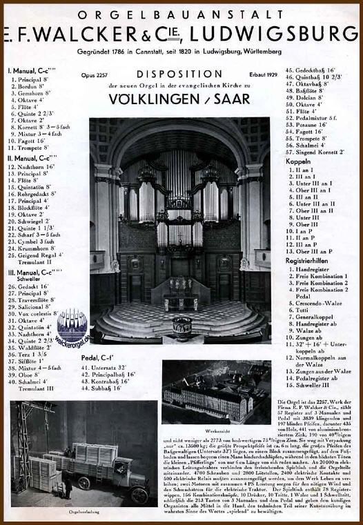 Walcker-Orgel © www.walcker.com