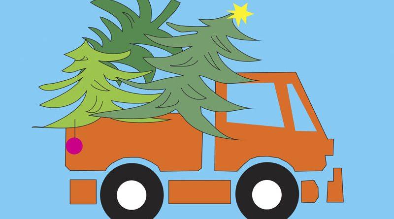Weihnachtsbaumabholung in Völklingen