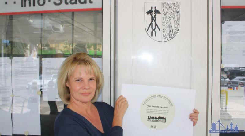 """Die Stadt Völklingen gehört mit Oberbürgermeisterin Christiane Blatt zu dem Bündnis, dessen Forderungen die Stadt unterstützt. Blatt: """"Wir als Mitglieder wollen jetzt endlich vom Bund Taten sehen."""" (Foto: Stadt VKL/Grieger)"""